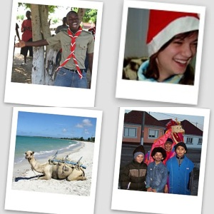 Holiday collage